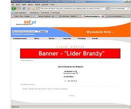Banner Lider Branży