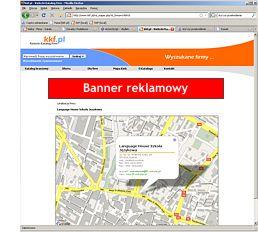 Bannery mapa Google