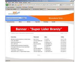 Banner Super Lider Branży